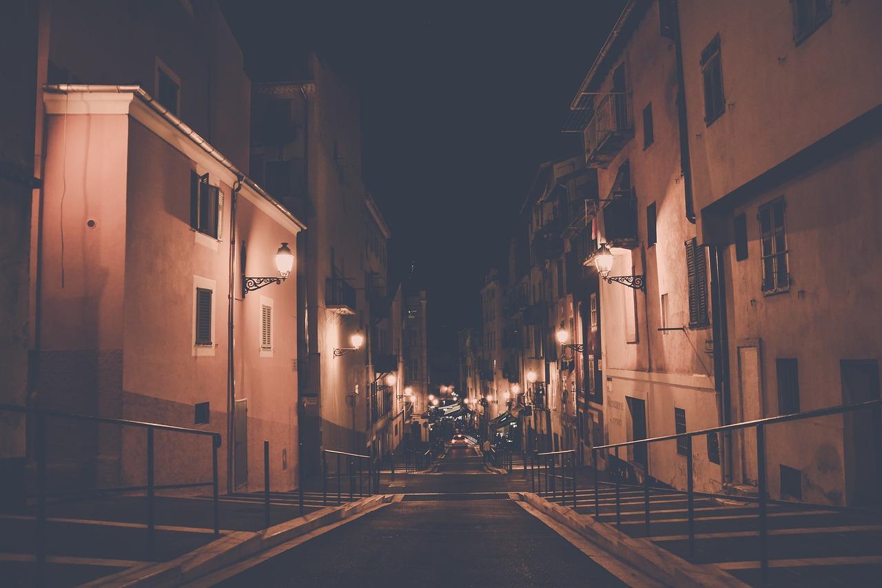 Calle solitaria relato